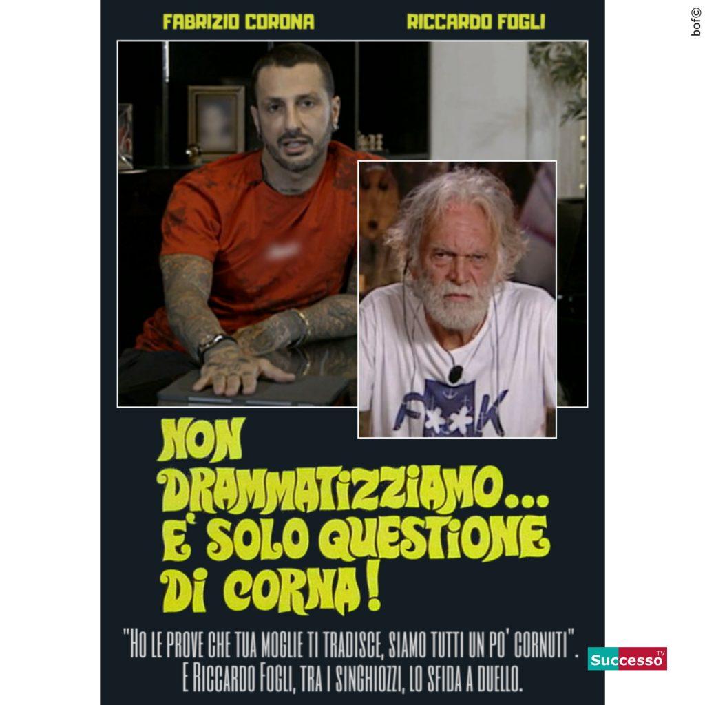 Fabrizio Corona Riccardo Fogli