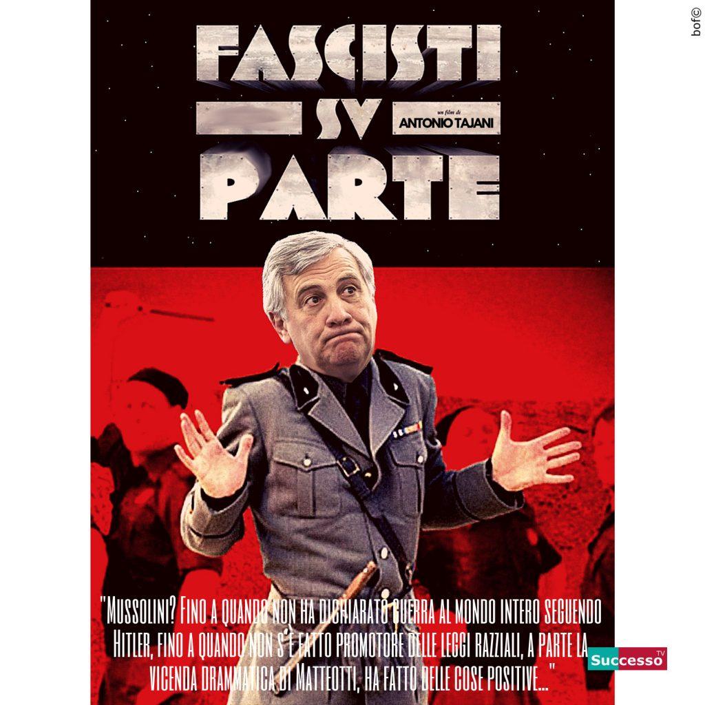 ANtonio Tajani Fascismo