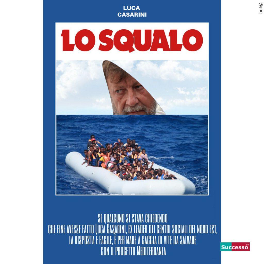 Luca Casarini Migranti