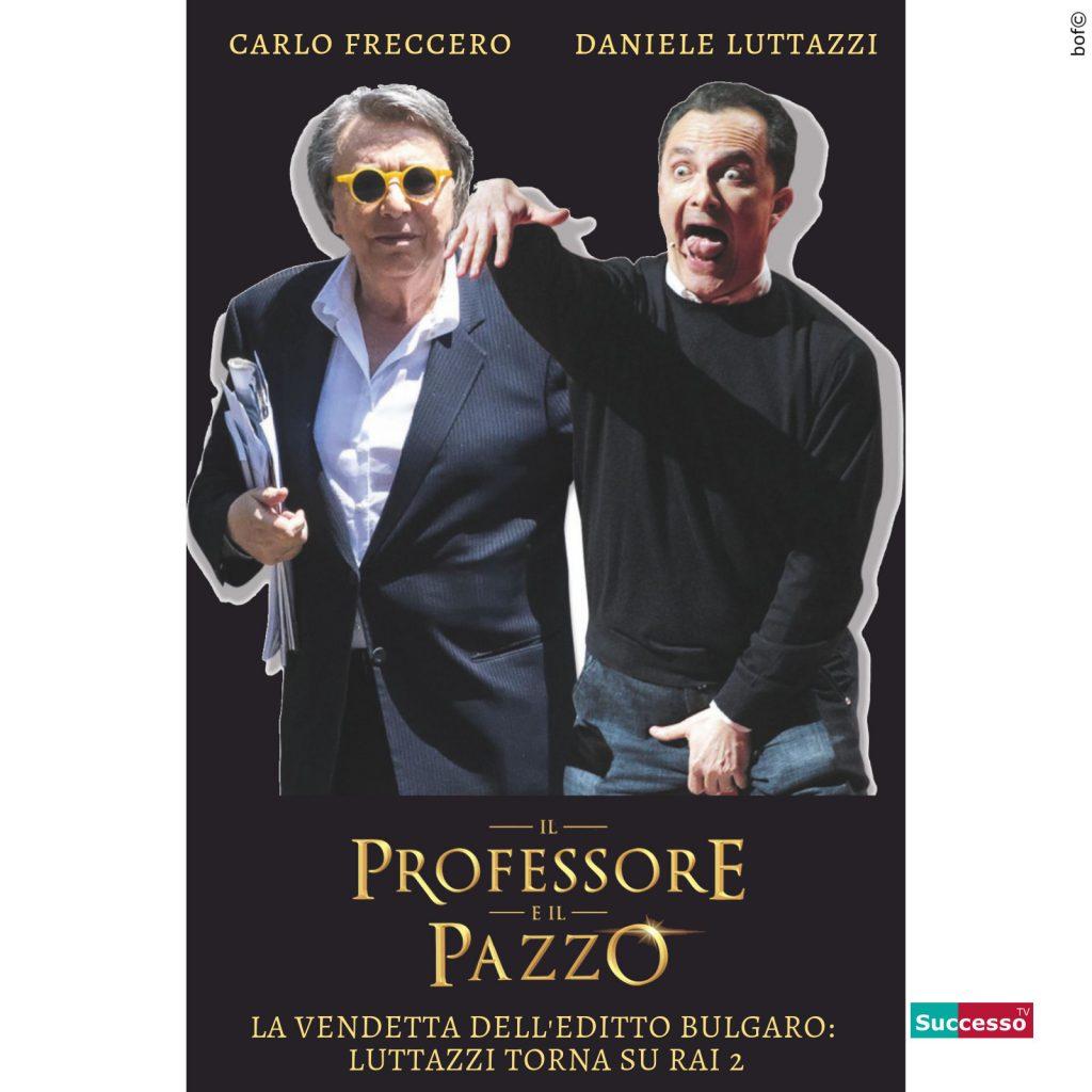 Carlo Freccero Daniele Luttazzi Ritorno