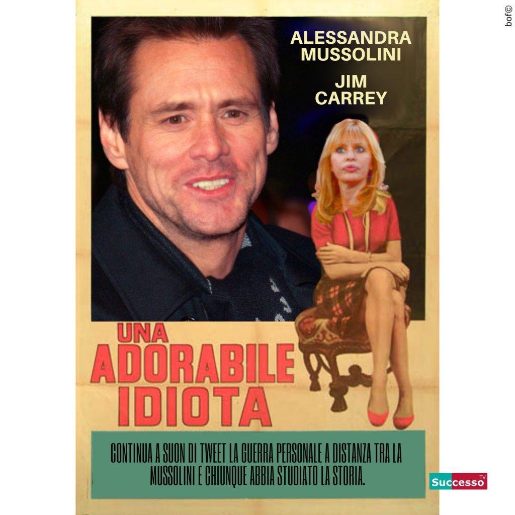 Jim Carrey Alessandra Mussolini Lite