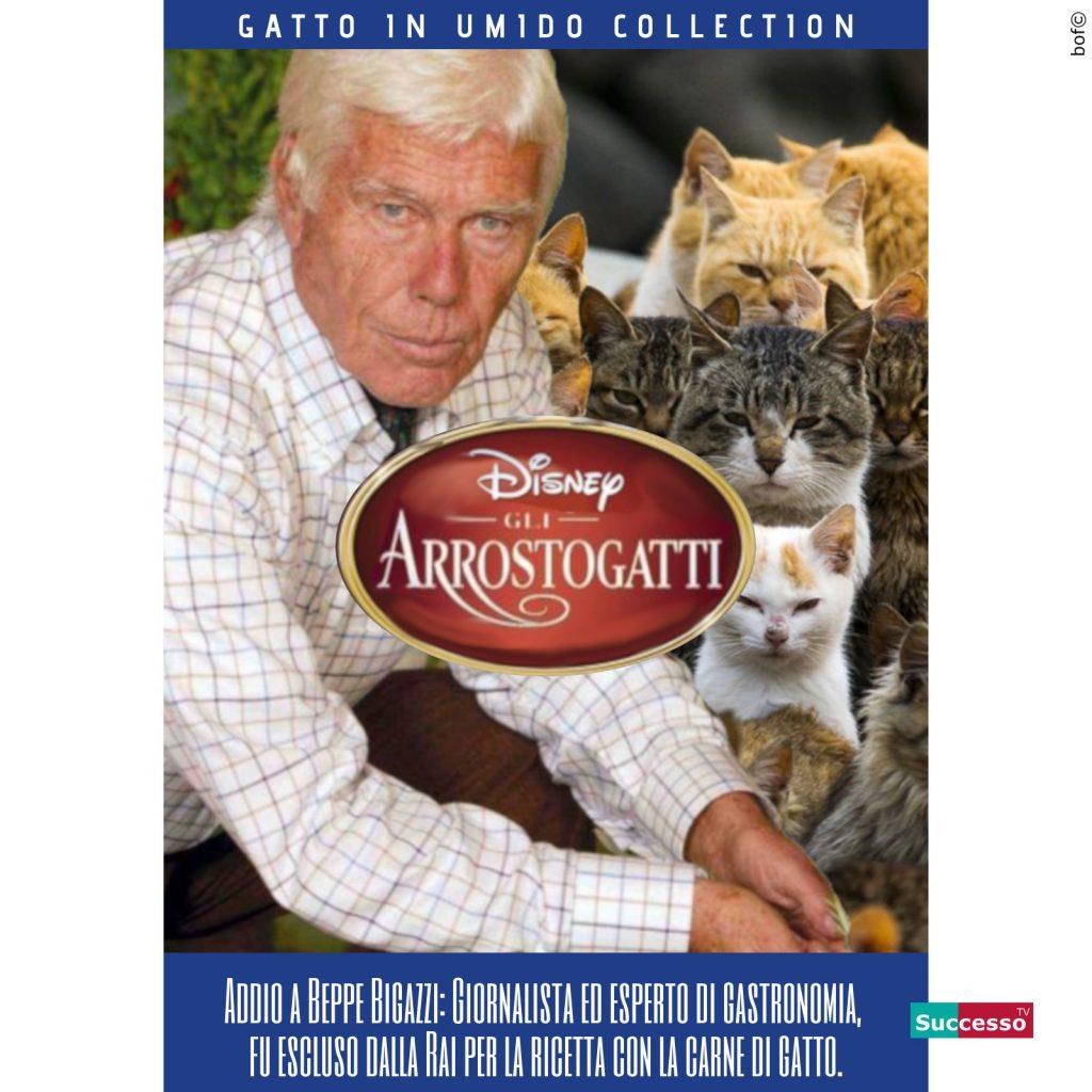 successotv satira parodia cinema bigazzi gatti aristogatti