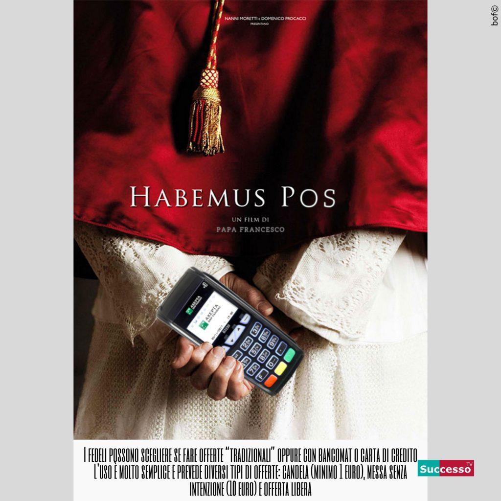 successotv satira parodia cinema habemus papa pos banca vaticano