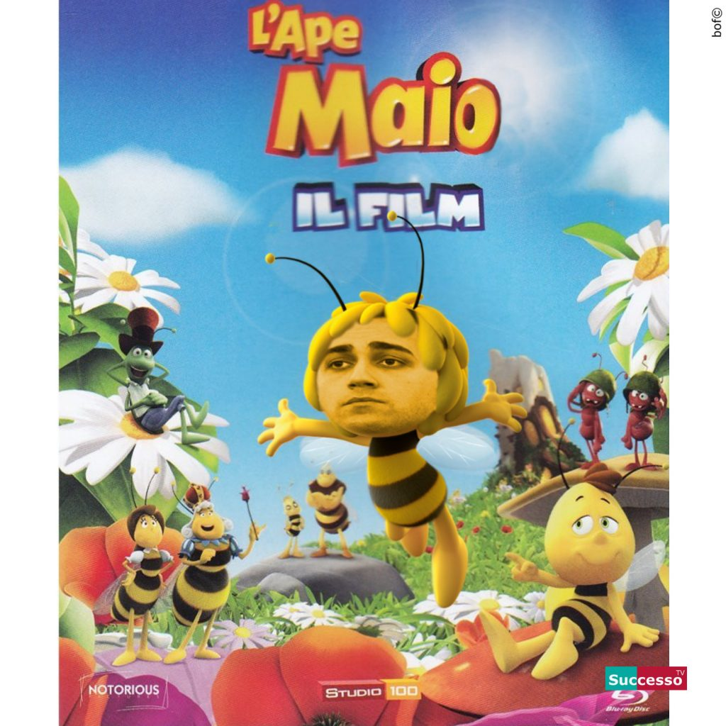 successotv satira parodia cinema ape maia luigi di maio
