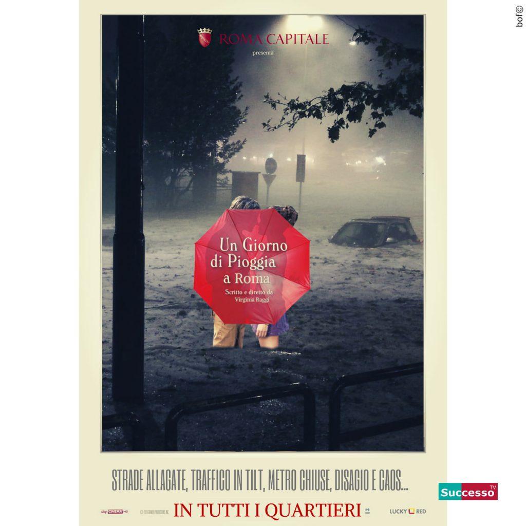 successotv satira parodia cinema pioggia roma