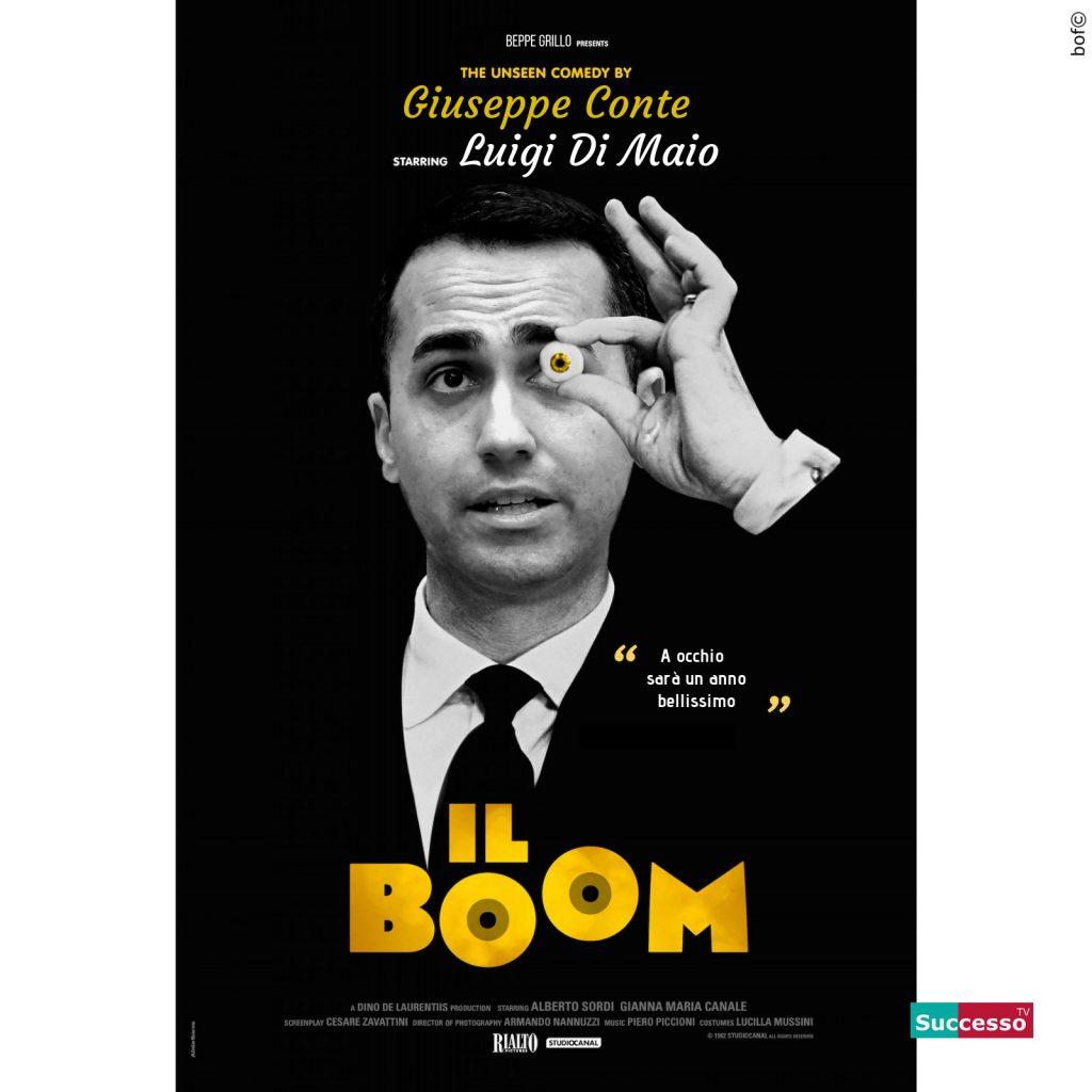 successotv satira parodia cinema di maio il boom