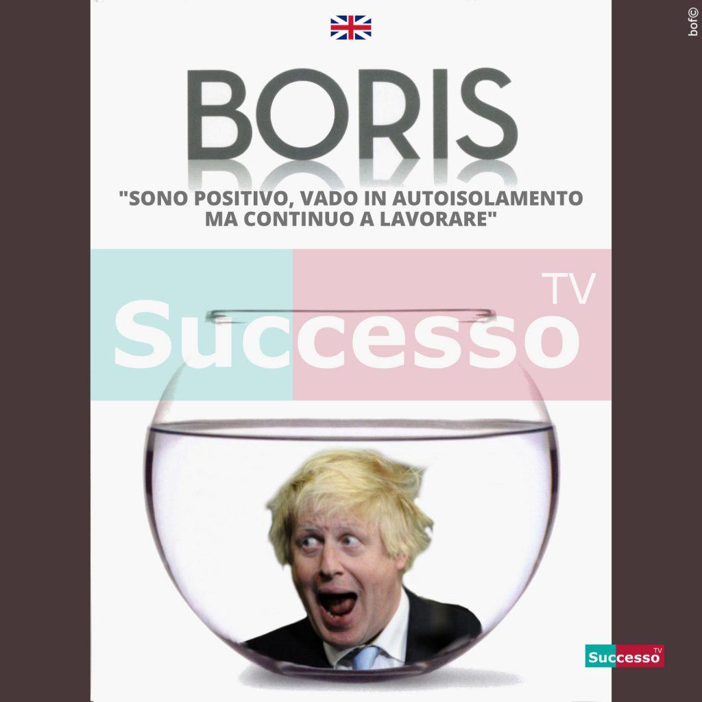 le cartoline di successo tv 2020 boris coronavirus