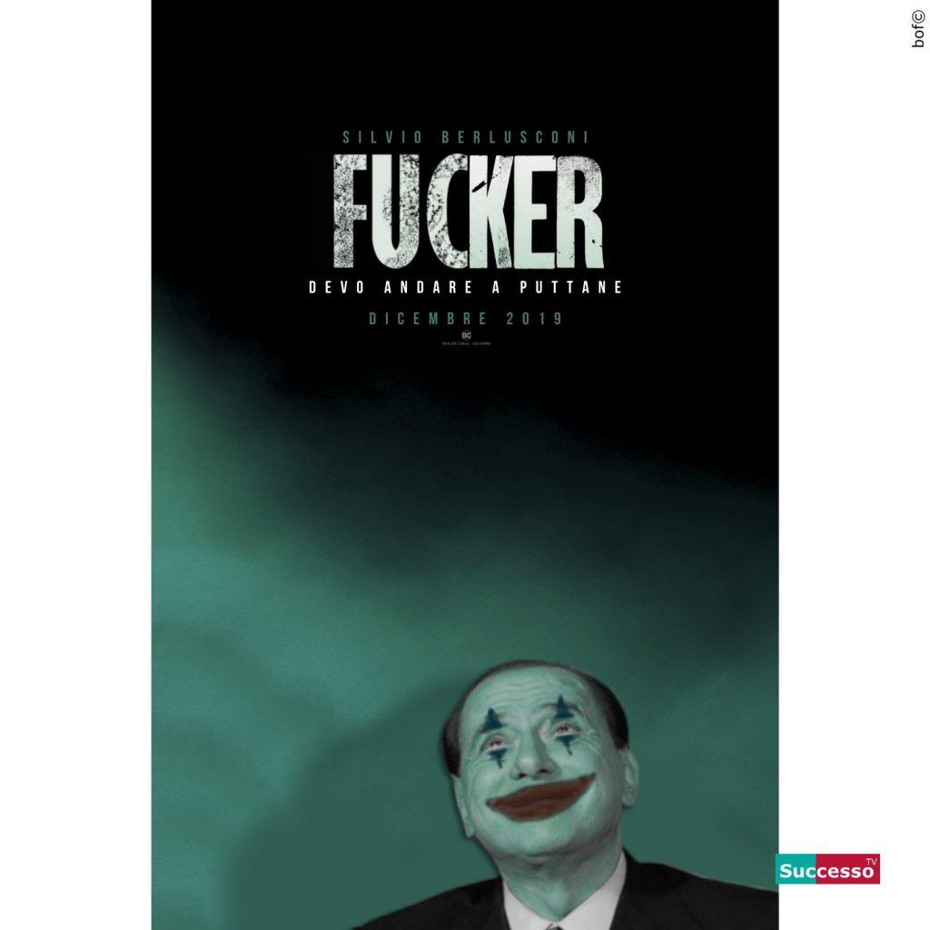 successotv satira parodia cinema berlusconi joker