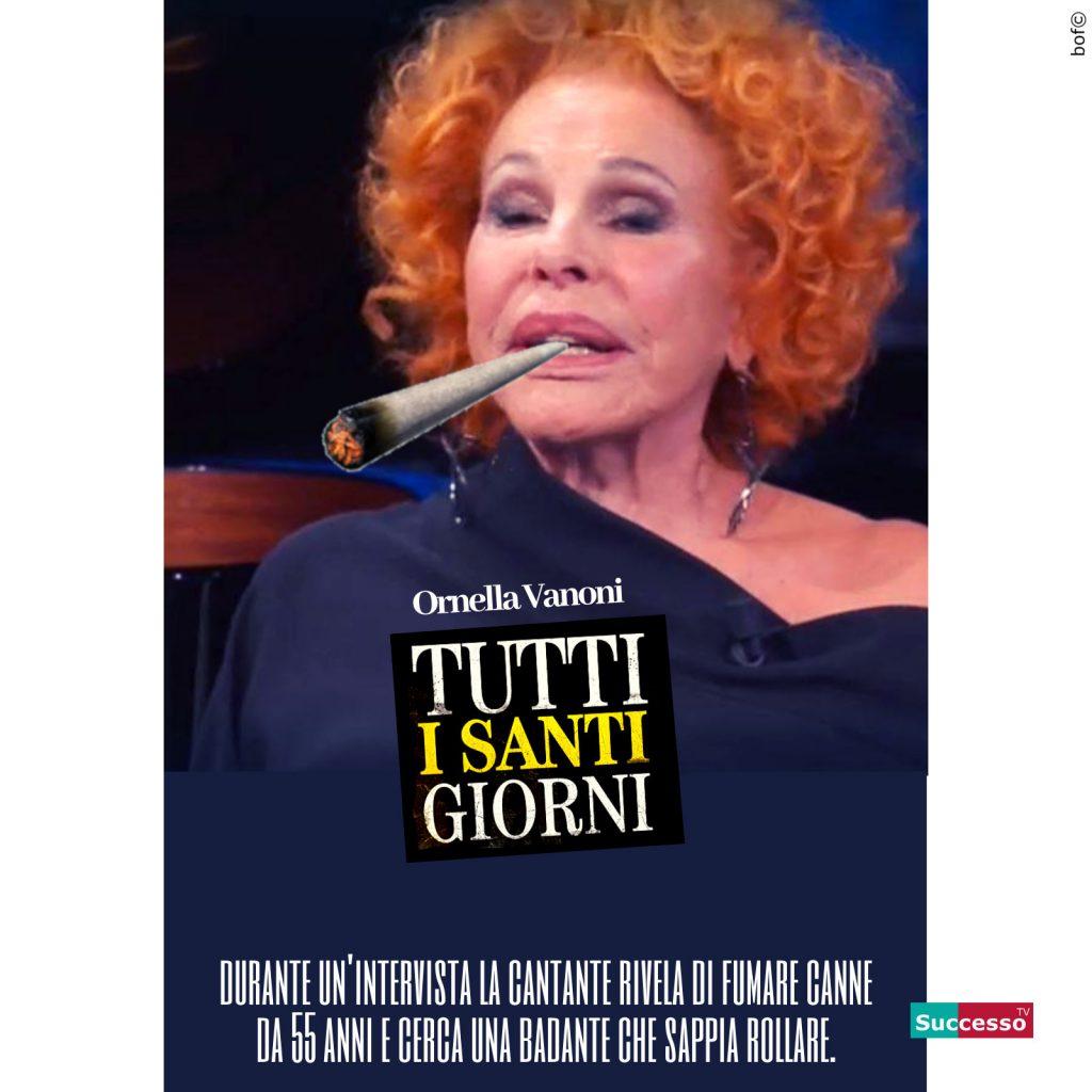 successotv satira parodia cinema ornella vanoni canne