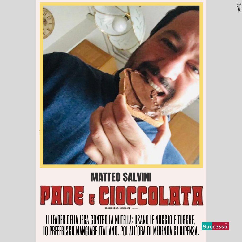 successotv satira parodia cinema salvini pane e cioccolata