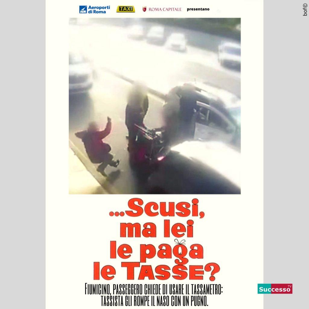 successotv satira parodia cinema taxi aeroporto roma