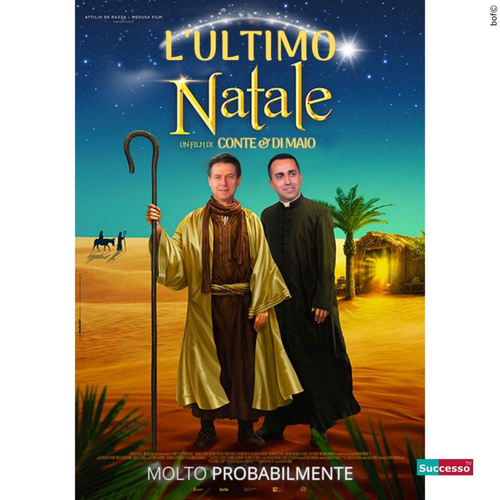 successotv satira parodia cinema ultimo natale conte di maio