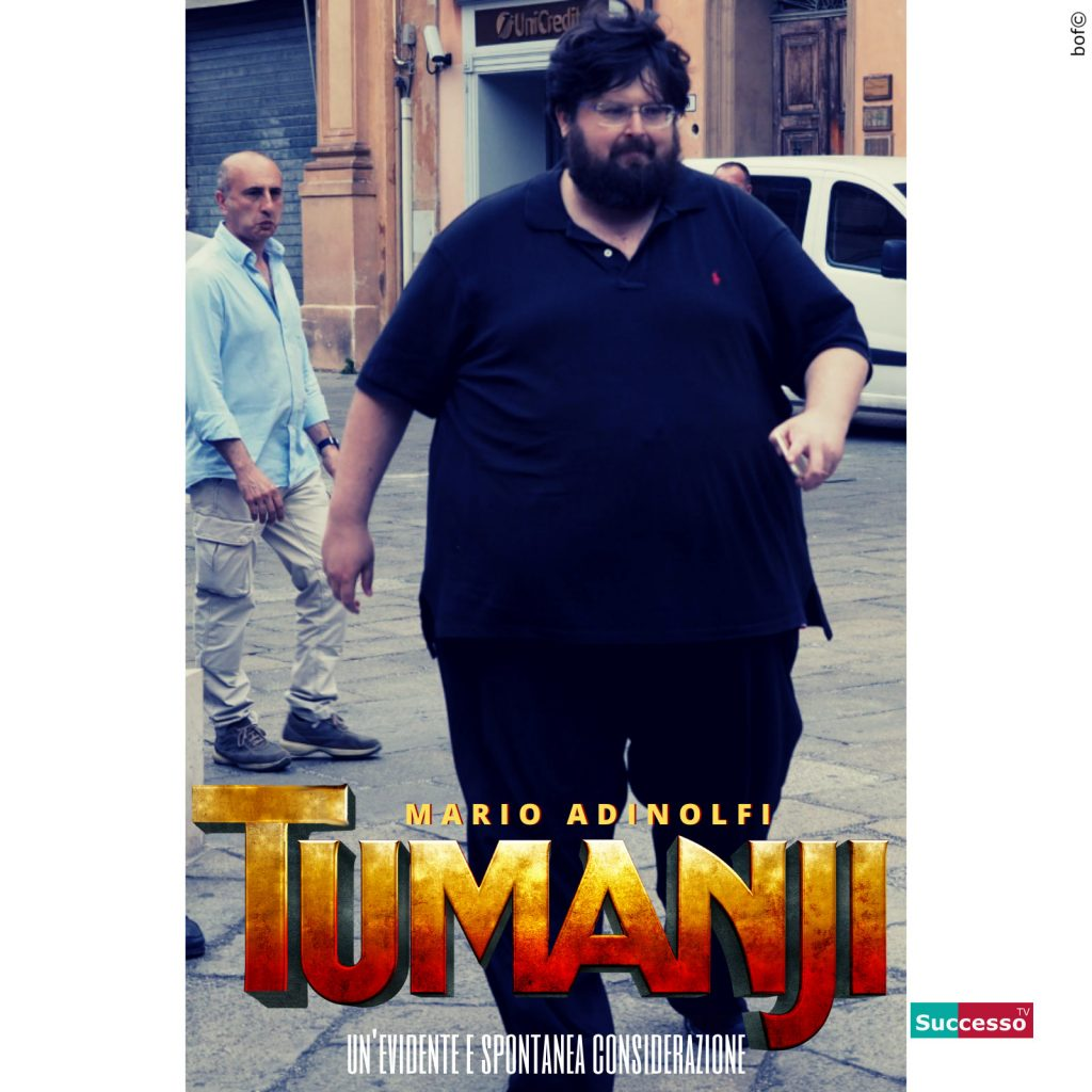 successotv satira parodia cinema mario adinolfi jumanji