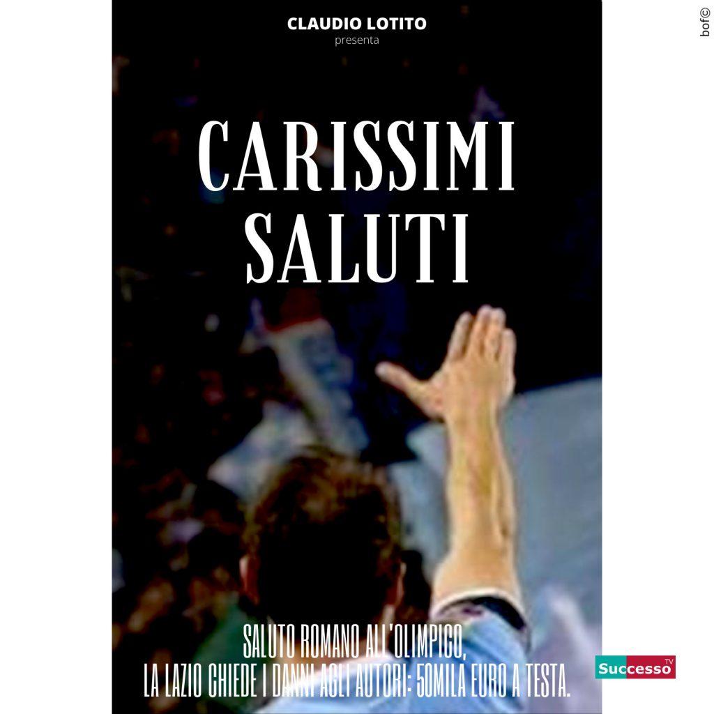 le cartoline di successo tv 2020 saluto romano
