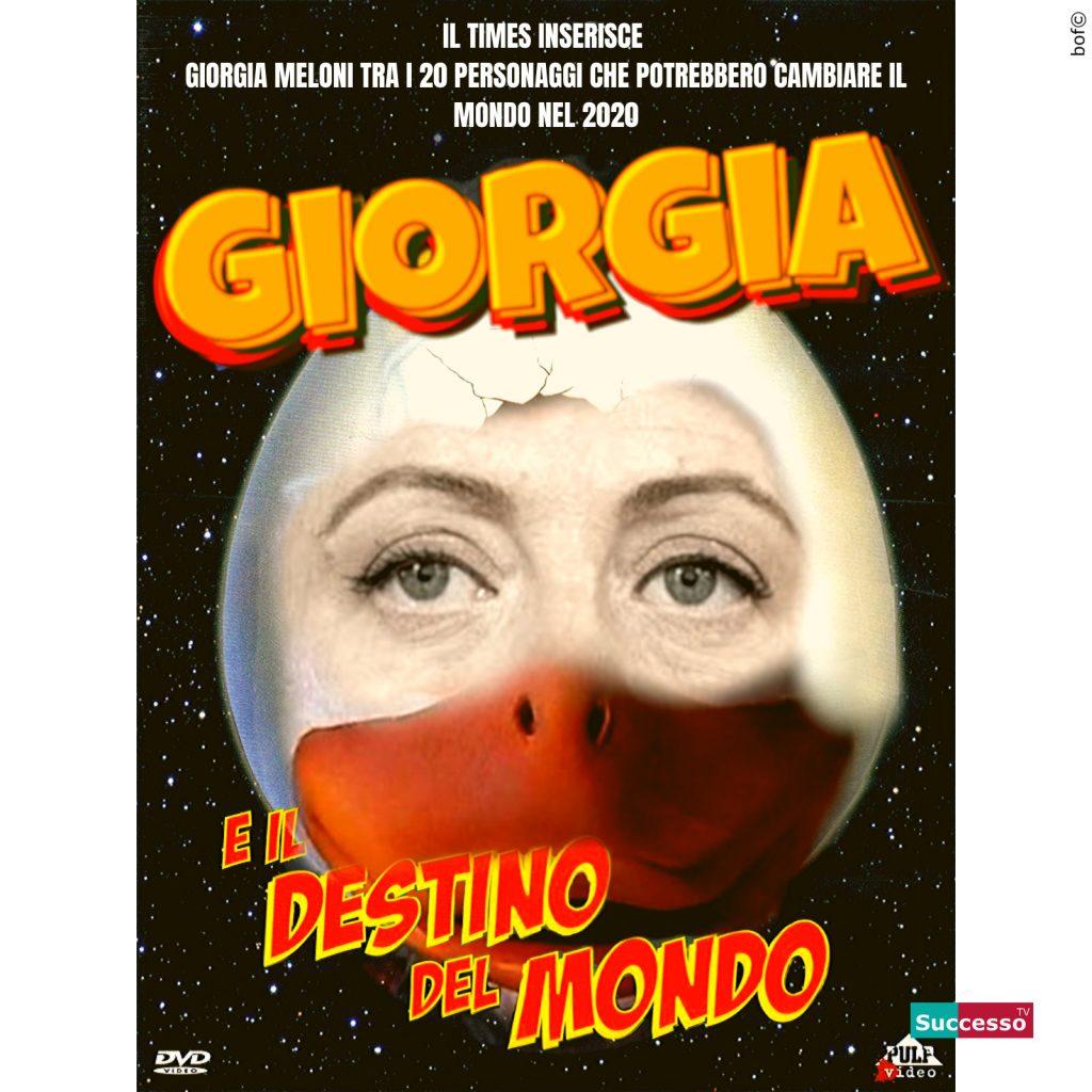 le cartoline di successo tv 2020 satira parodia cinema giorgia meloni