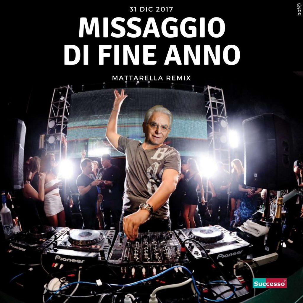 successo tv satira Mattarella Fine Anno