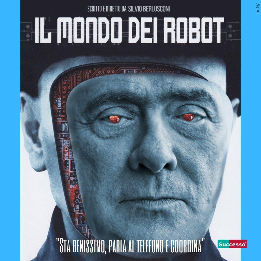 successotv satira parodia cinema berlusconi il mondo dei robot