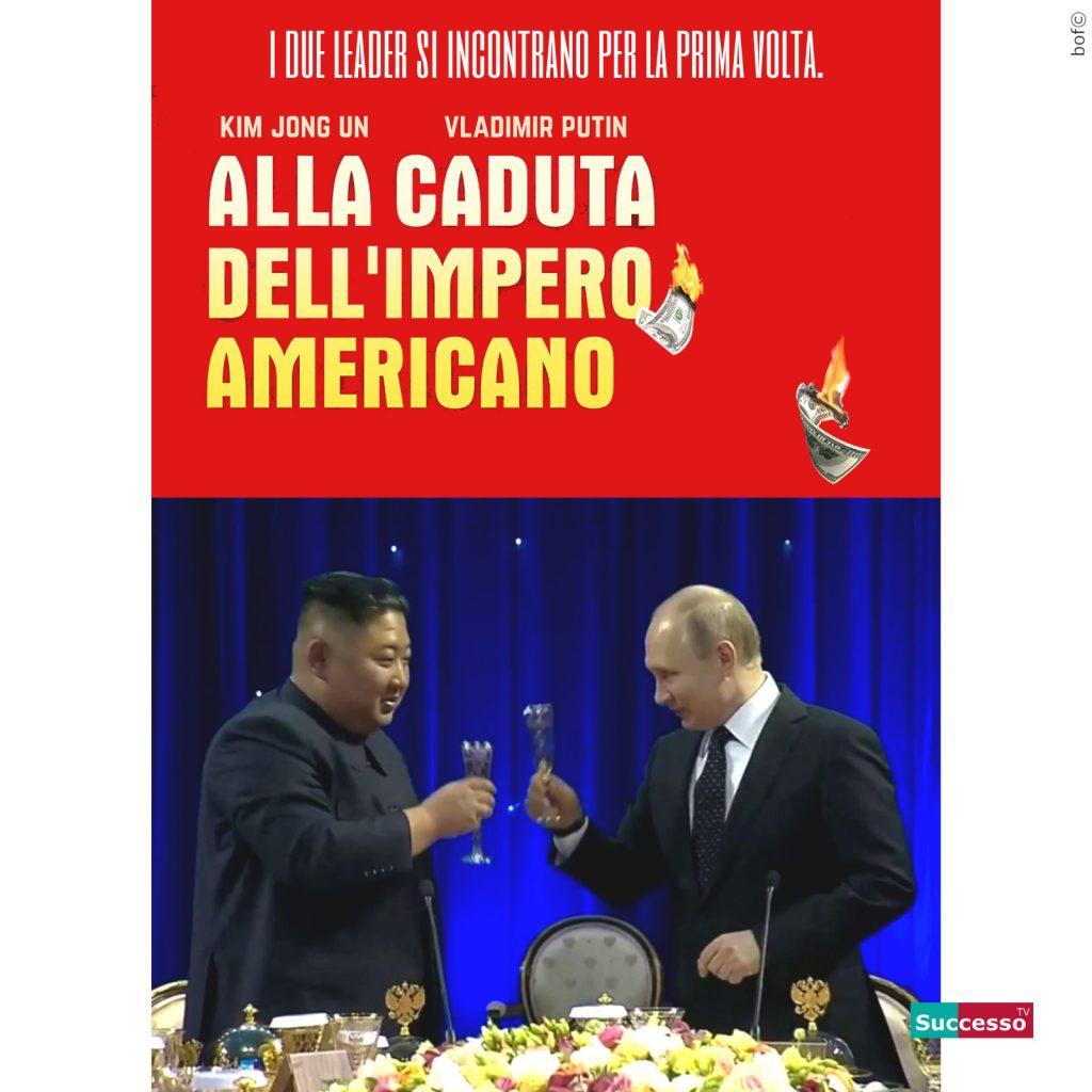 successotv satira parodia cinema trump kim jong un caduta impero americano