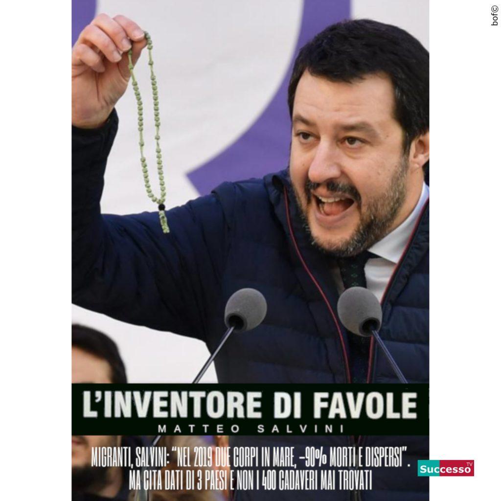 successotv satira parodia cinema matteo salvini inventore favole rosario