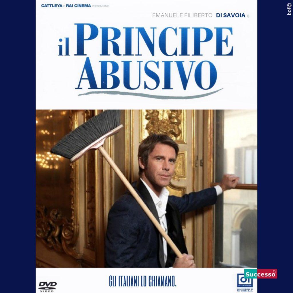 successotv satira parodia cinema il principe abusivo emanuele filiberto di savoia