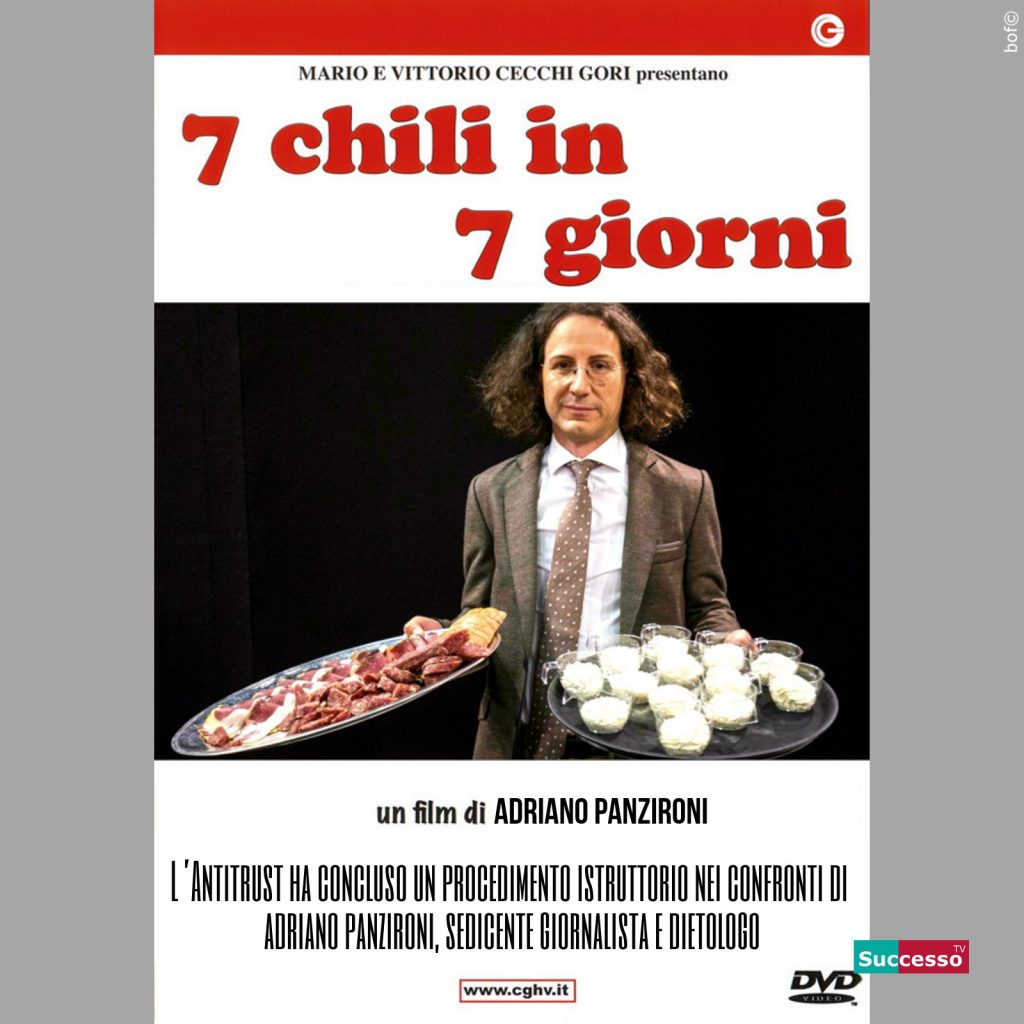 successotv satira parodia cinema panzironi sette chili in sette giorni