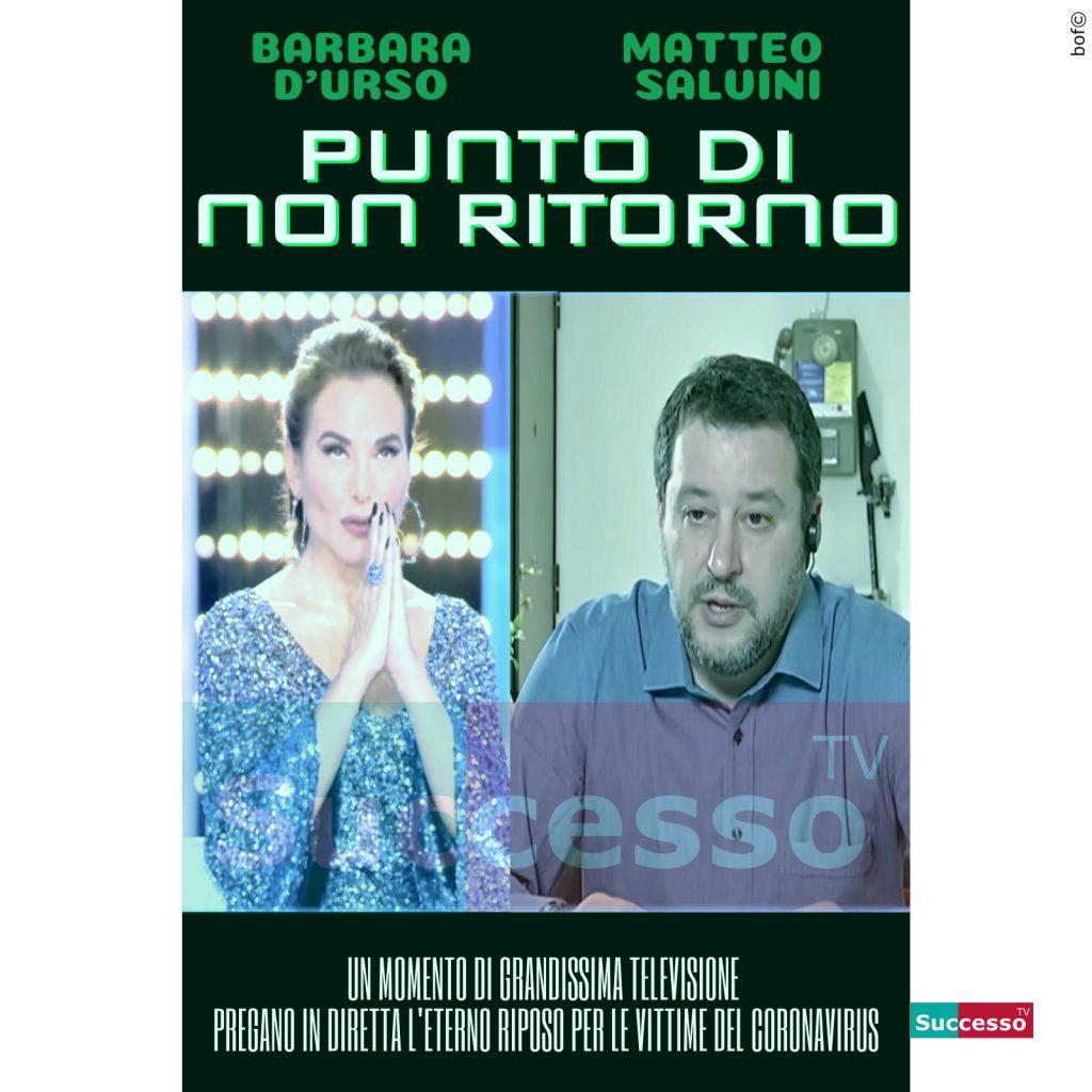 le cartoline di successo tv 2020 salvini rosario barbara durso