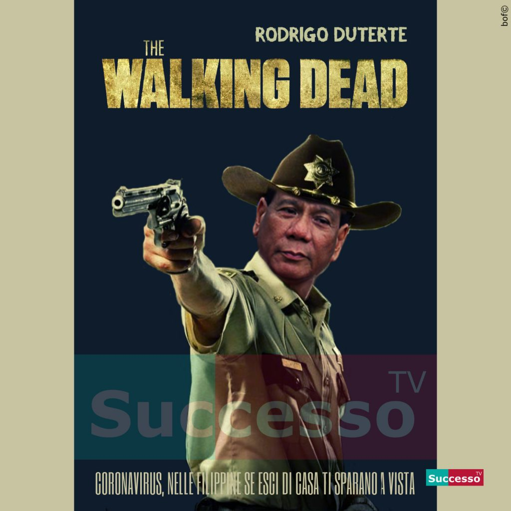 le cartoline di successo tv 2020 rodrigo duterte walking dead
