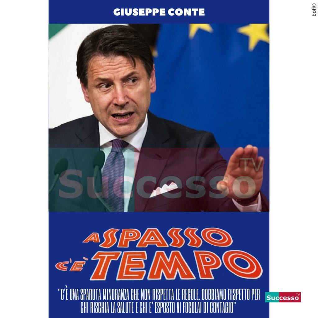 le cartoline di successo tv 2020 giuseppe conte decreto coronavirus