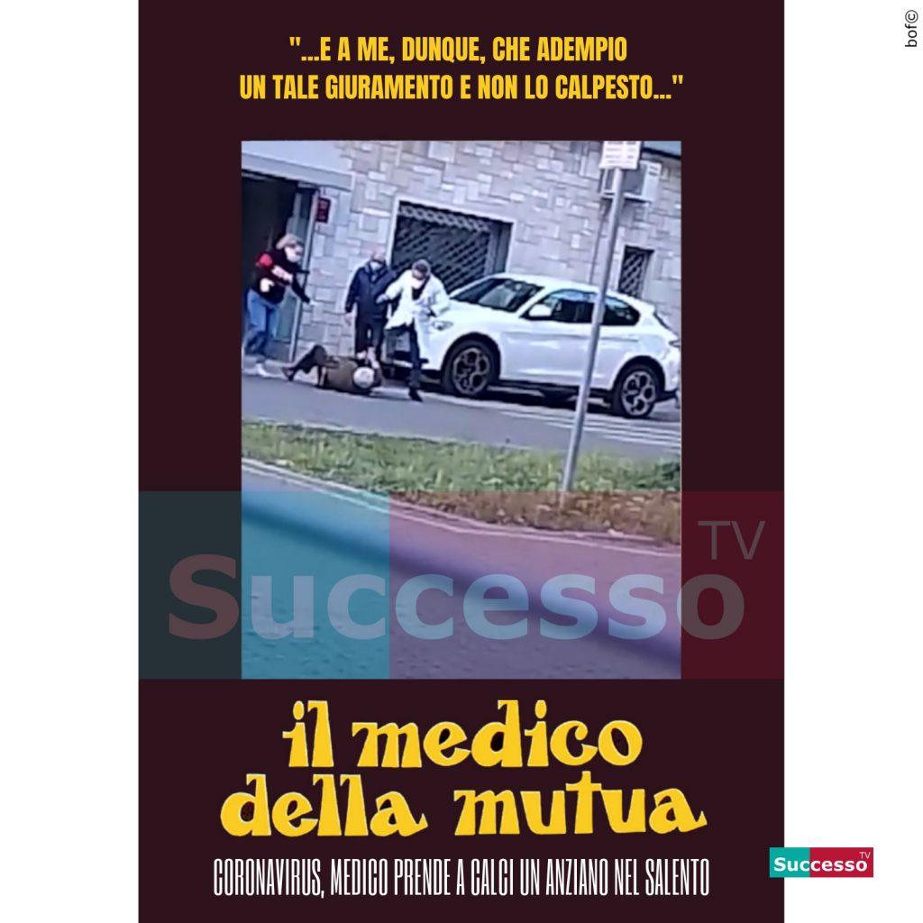 le cartoline di successo tv 2020 coronavirus medico della mutua