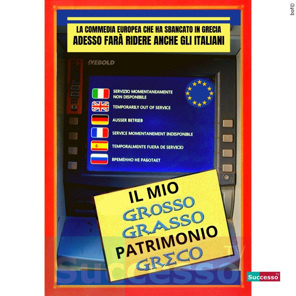 le cartoline di successo tv 2020 europa grecia italia