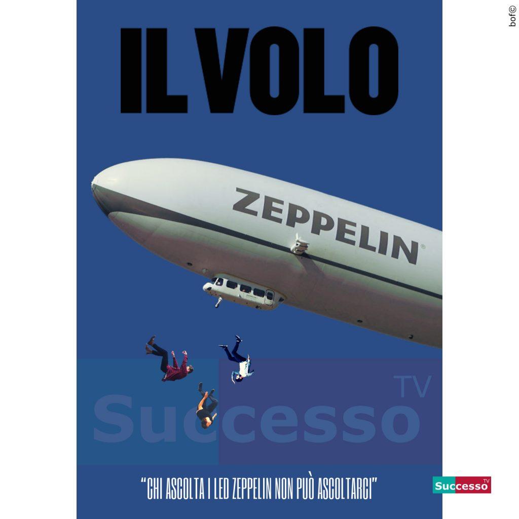 le cartoline di successo tv 2020 il volo led zeppelin