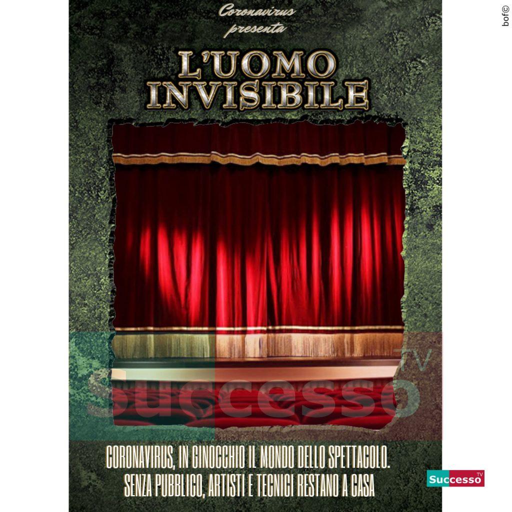 le cartoline di successo tv 2020 teatri vuoti