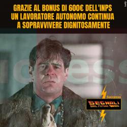 segnali dal futuro bonus inps 600 euro