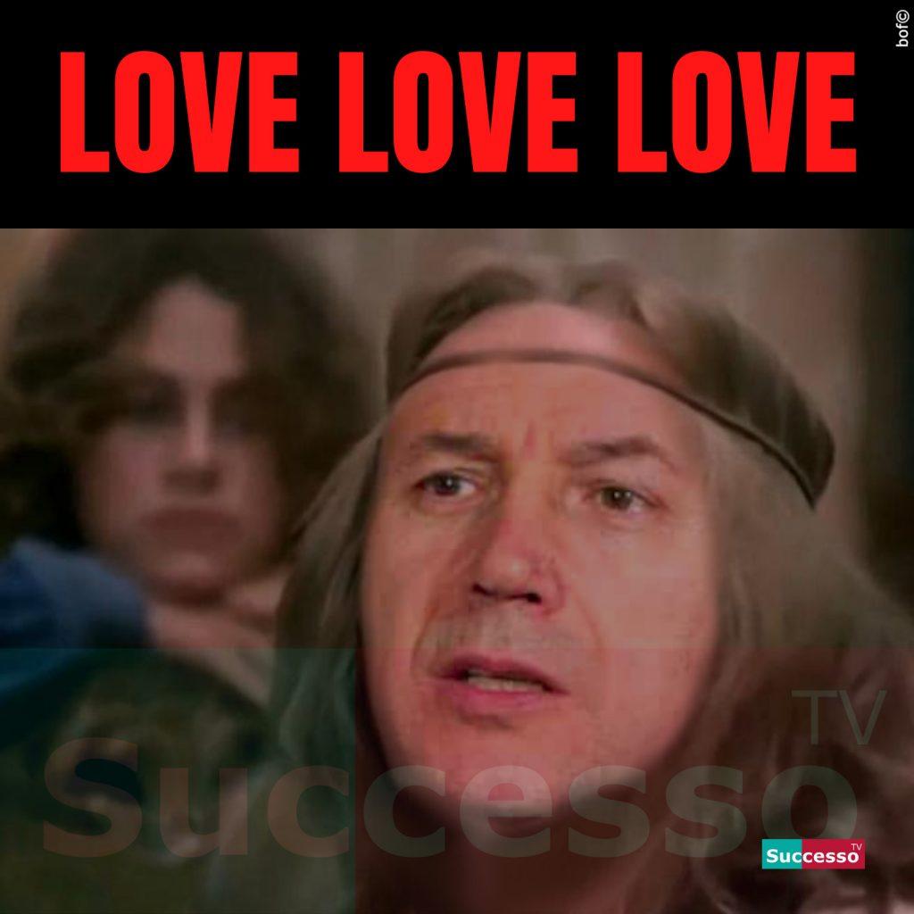le cartoline di successo tv 2020 Carlo Verdone Giuseppe Conte Love Love Love