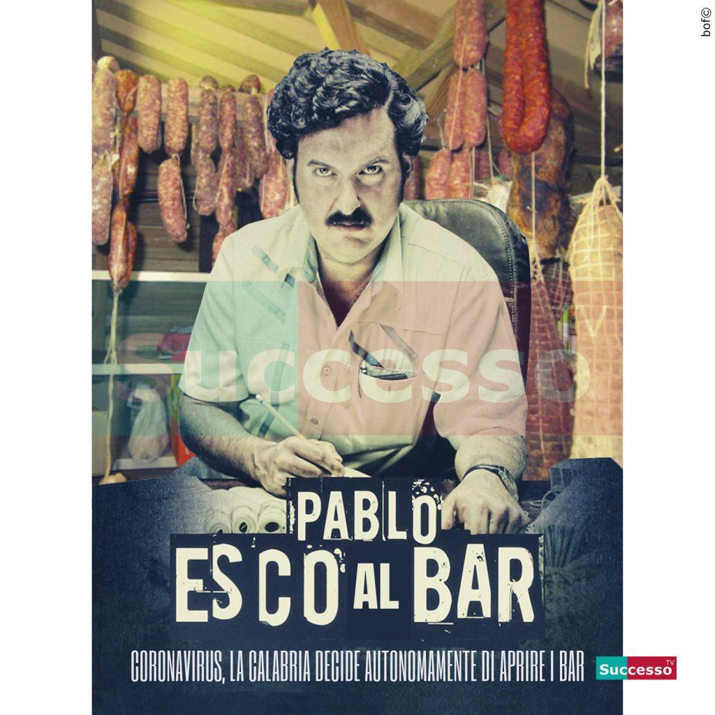 le cartoline di successo tv 2020 Pablo Escobar