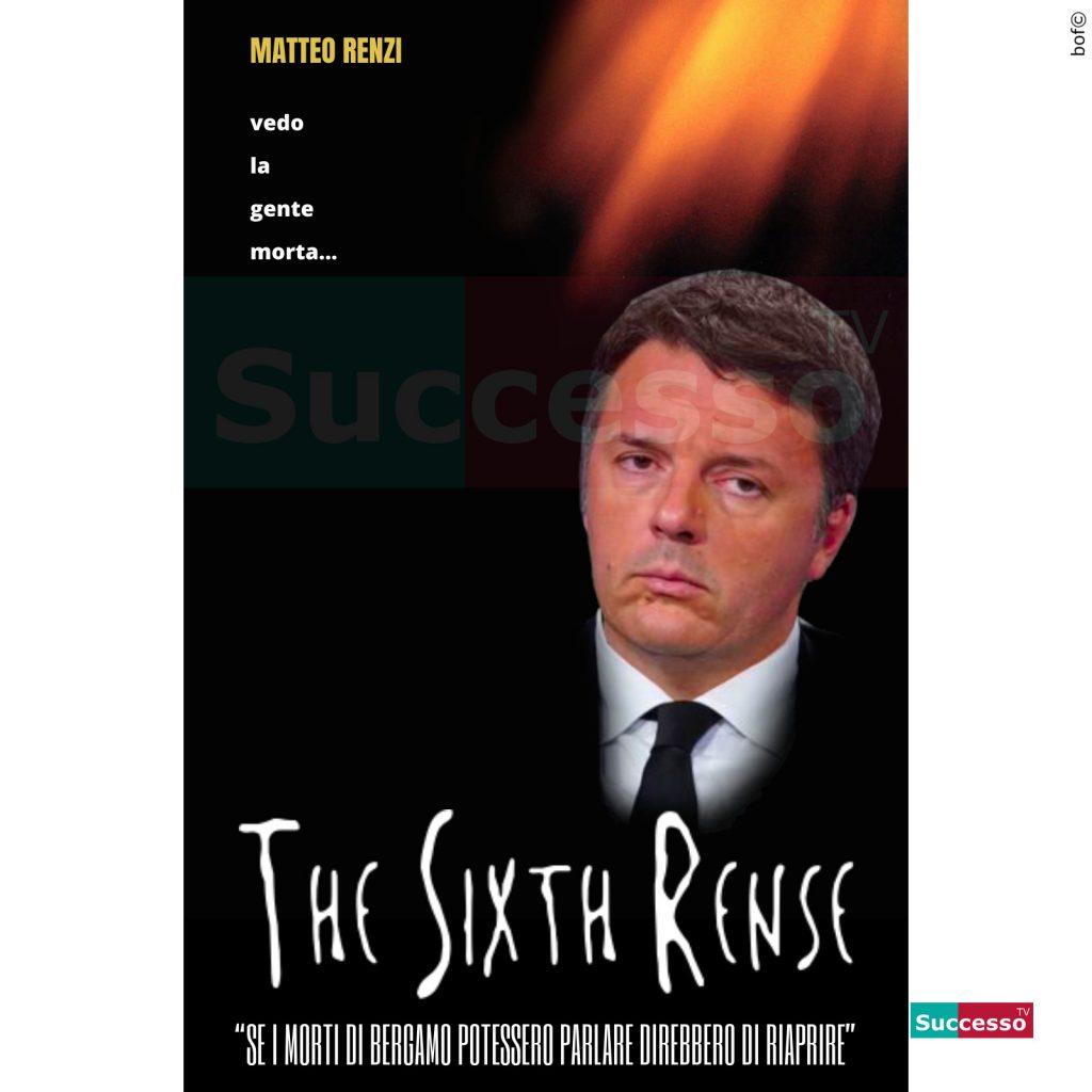 le cartoline di successo tv 2020 Matteo Renzi