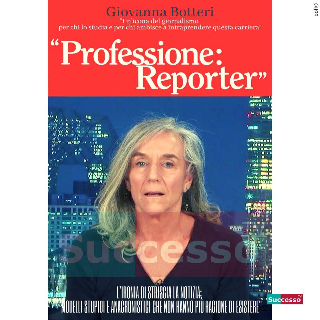 le cartoline di successo tv 2020 Giovanna Botteri Striscia La Notizia