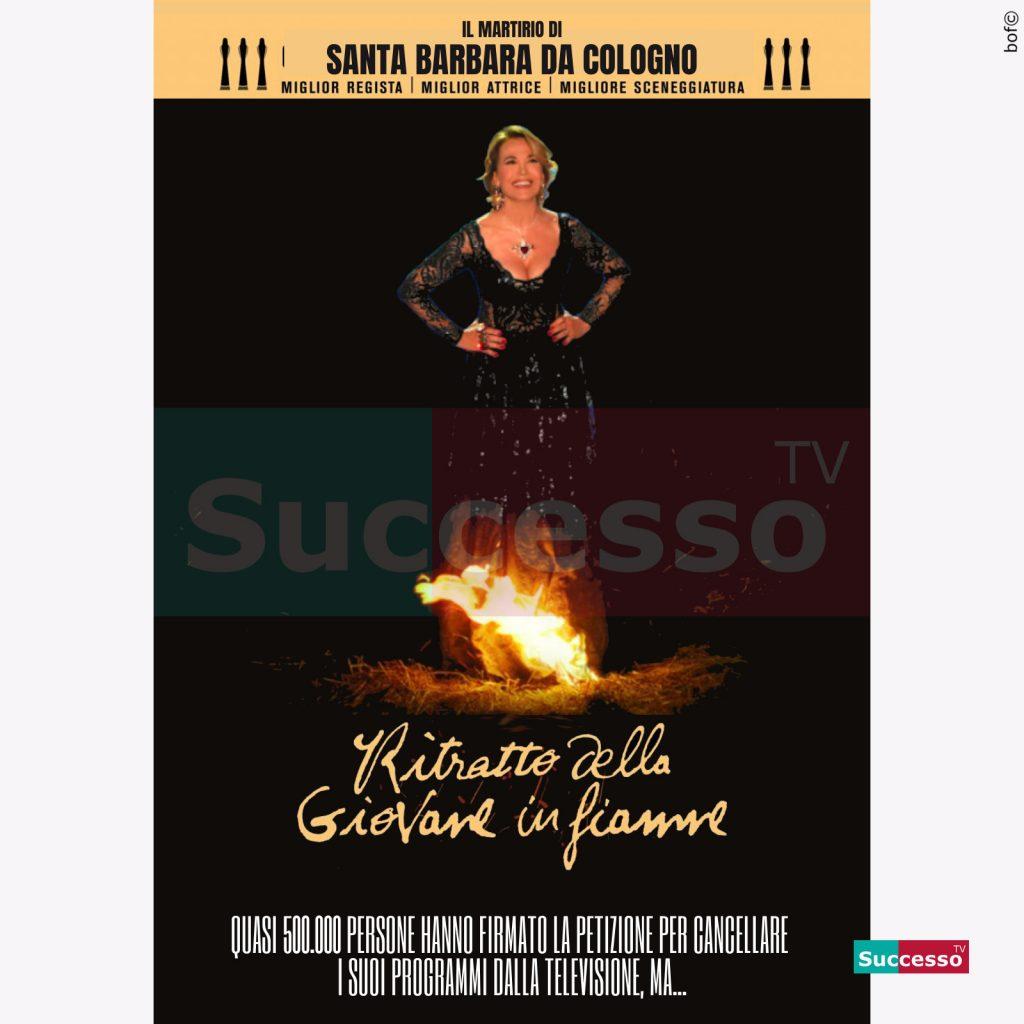 le cartoline di successo tv 2020 Barbara D'Urso