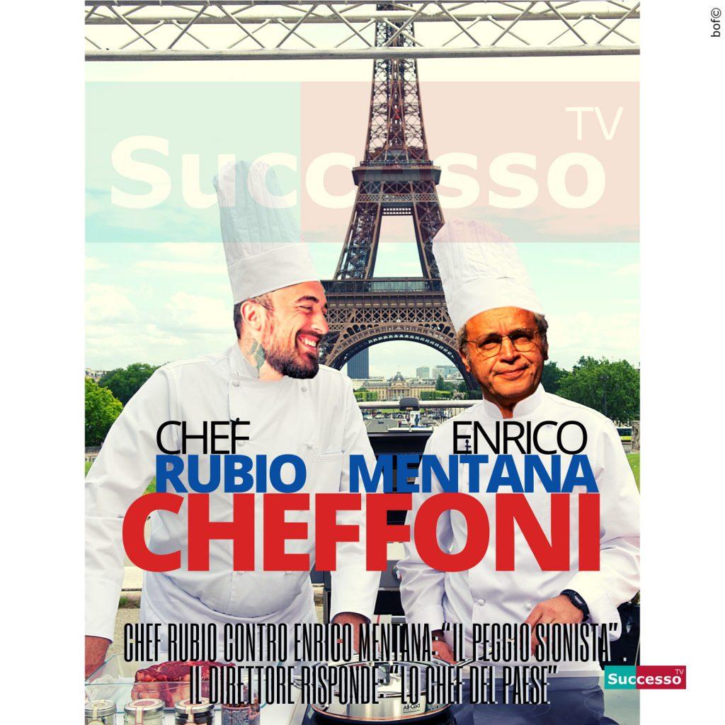 le cartoline di successo tv 2020 Mentana Rubio Chef