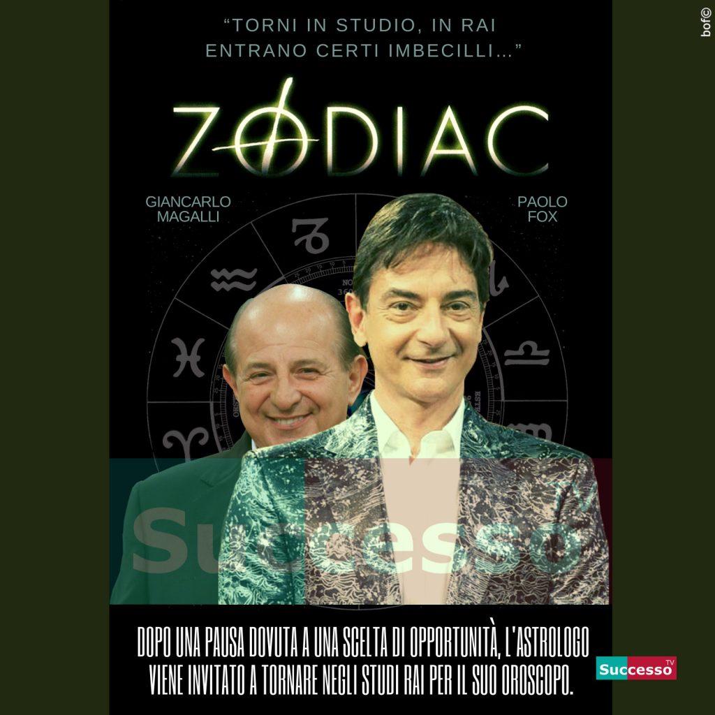 le cartoline di successo tv 2020 Zodiac Oroscopo Paolo Fox