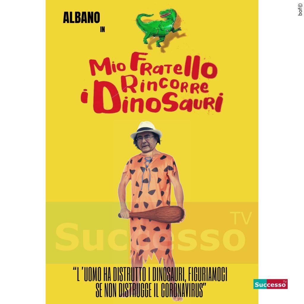 le cartoline di successo tv 2020 AlBano Dinosauri