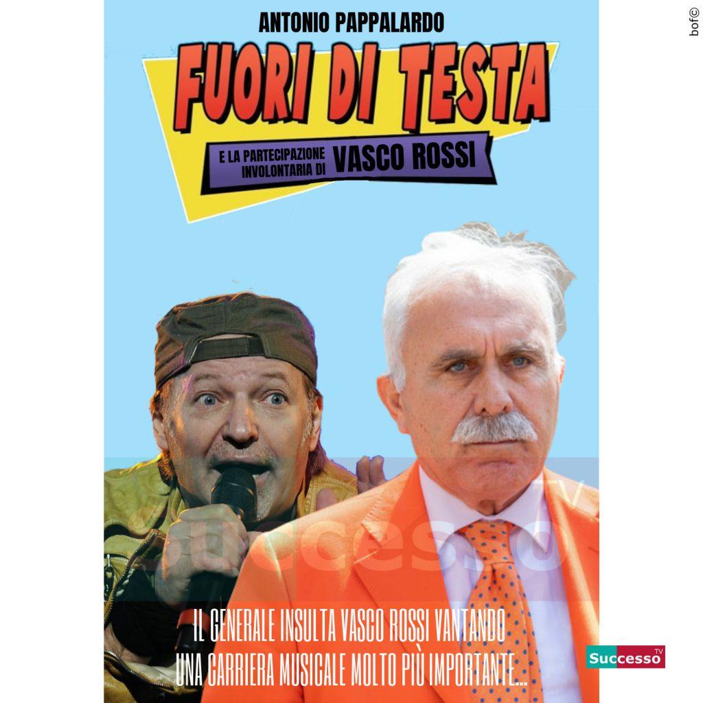 le cartoline di successo tv 2020 Vasco Rossi Gilet Arancioni Pappalardo