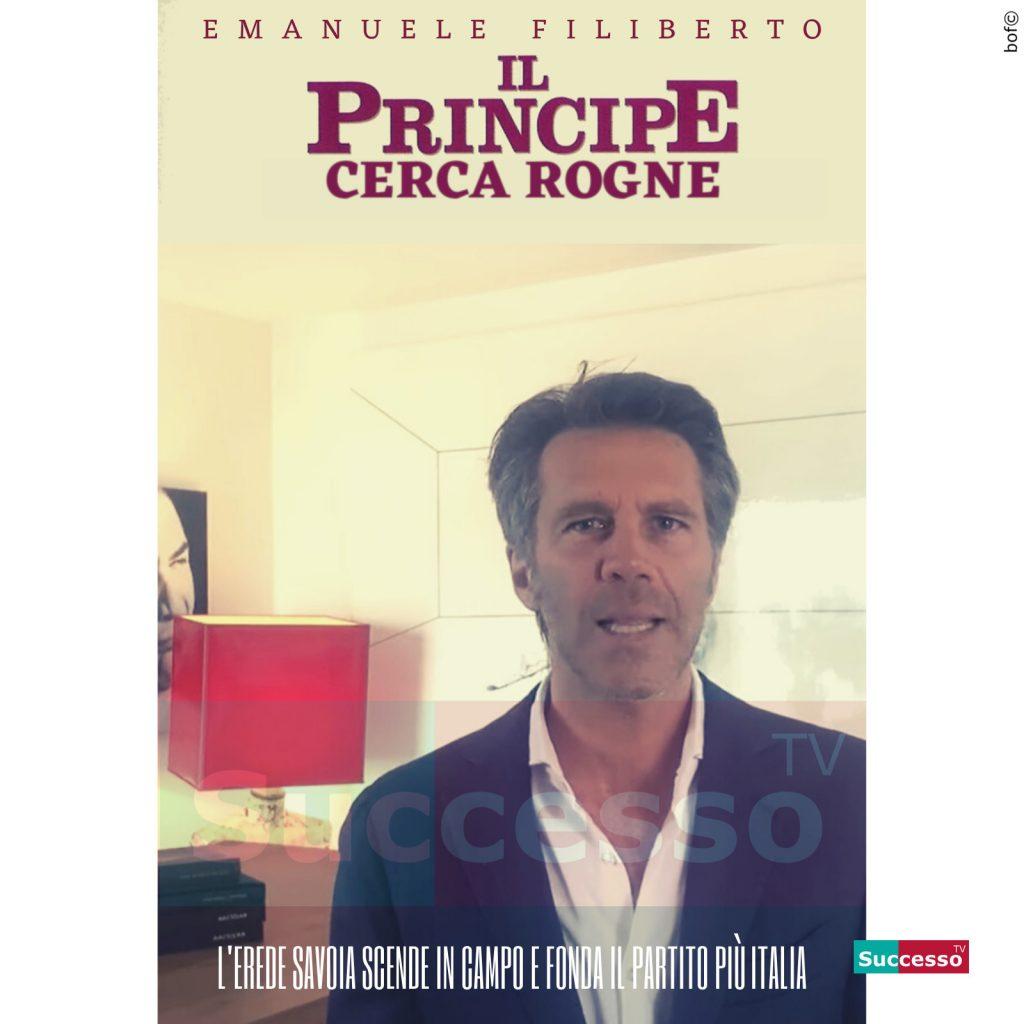 le cartoline di successo tv 2020 Principe Emanuele Filiberto