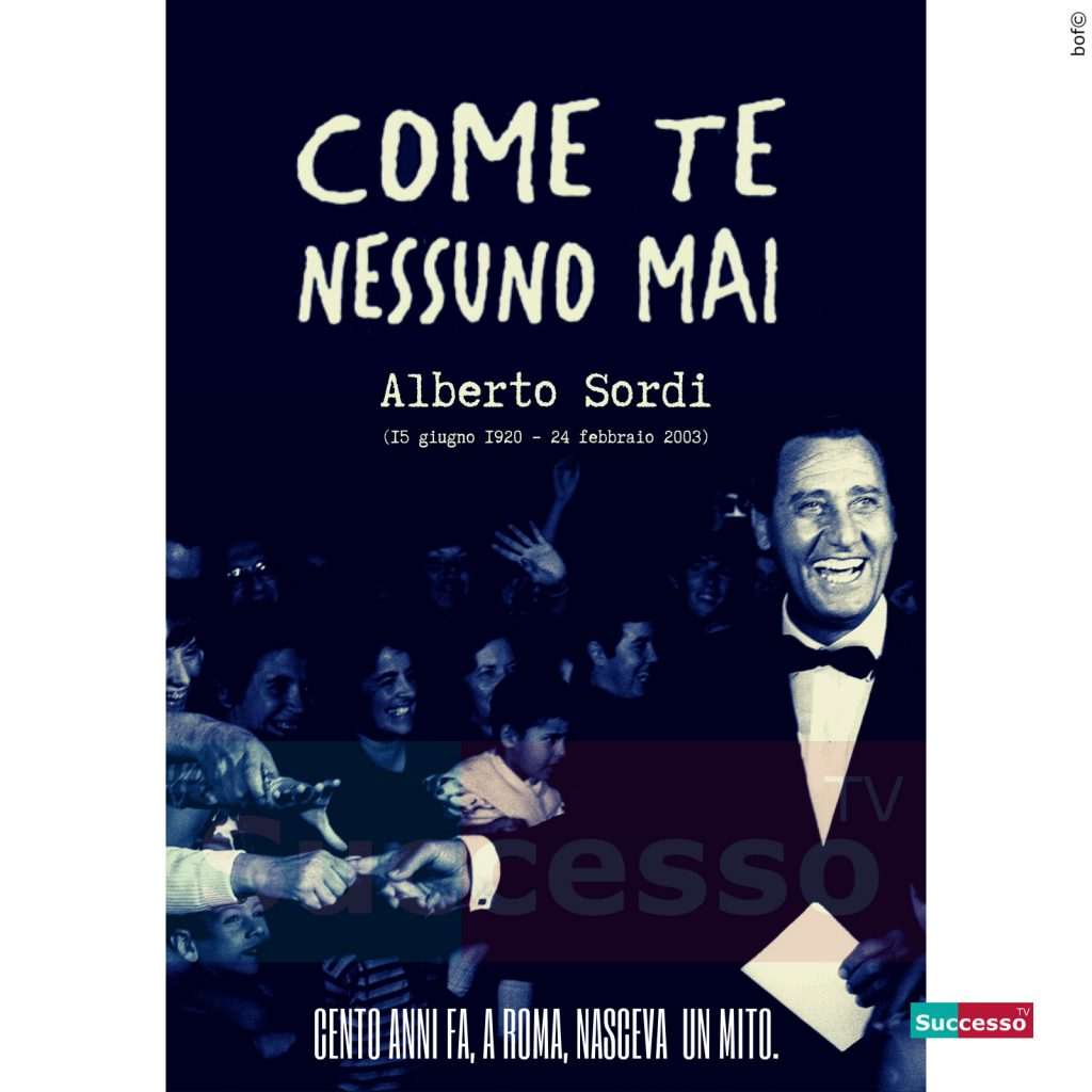 le cartoline di successo tv 2020 Alberto Sordi