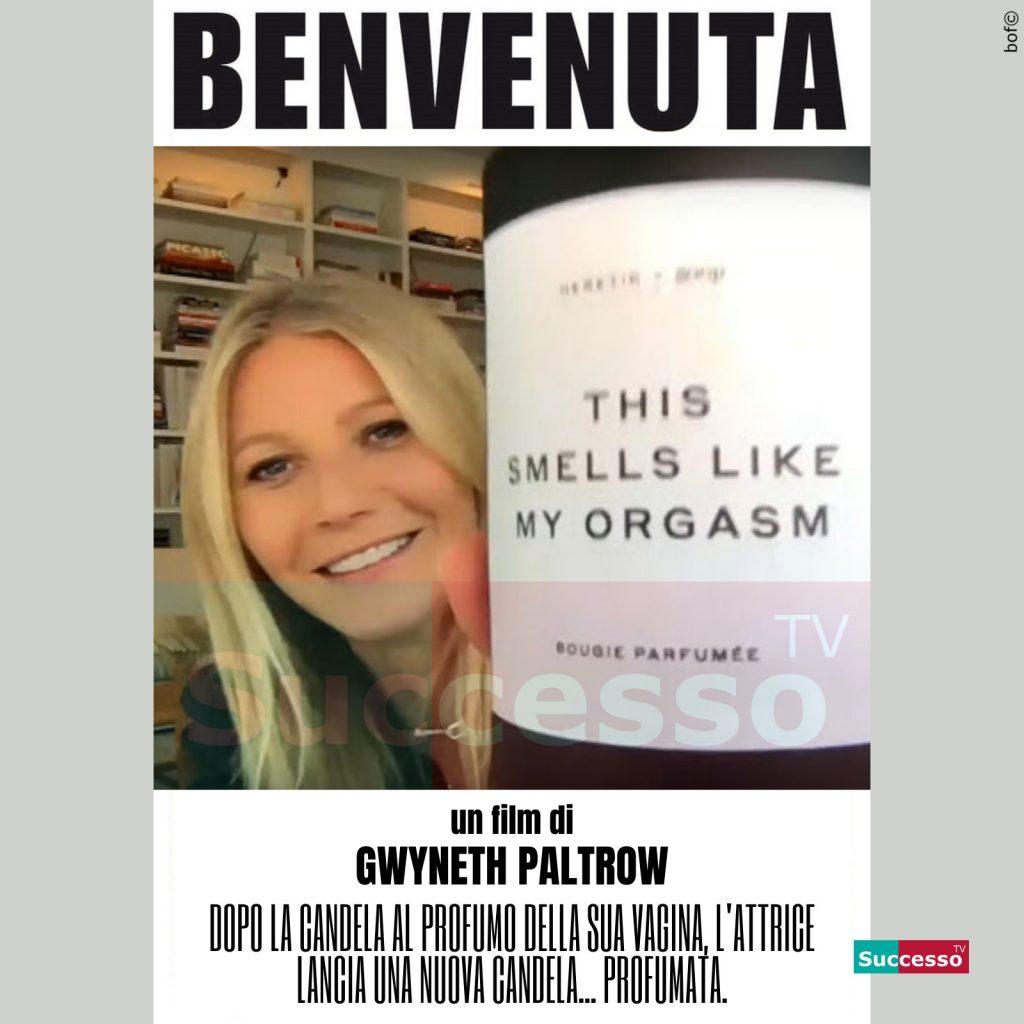 le cartoline di successo tv 2020 Profumo Gwineth Paltrow