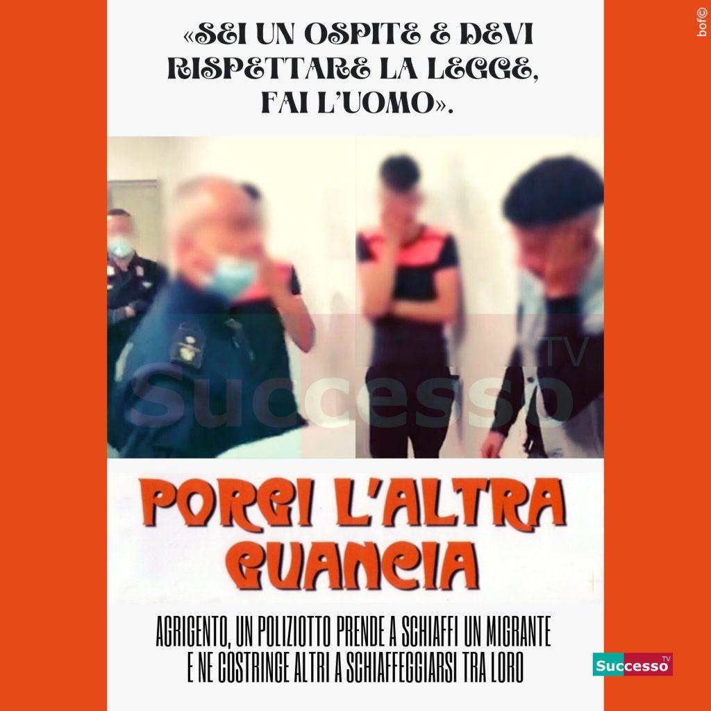 le cartoline di successo tv 2020 Immigrazione Accoglienza Polizia