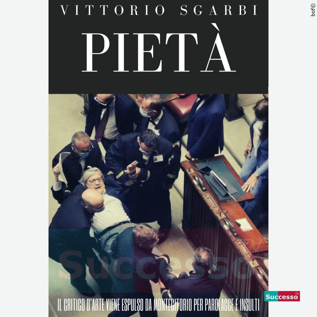 le cartoline di successo tv 2020 Vittorio Sgarbi