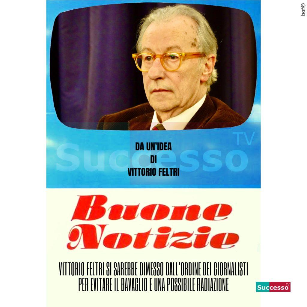 le cartoline di successo tv 2020 Vittorio Feltri