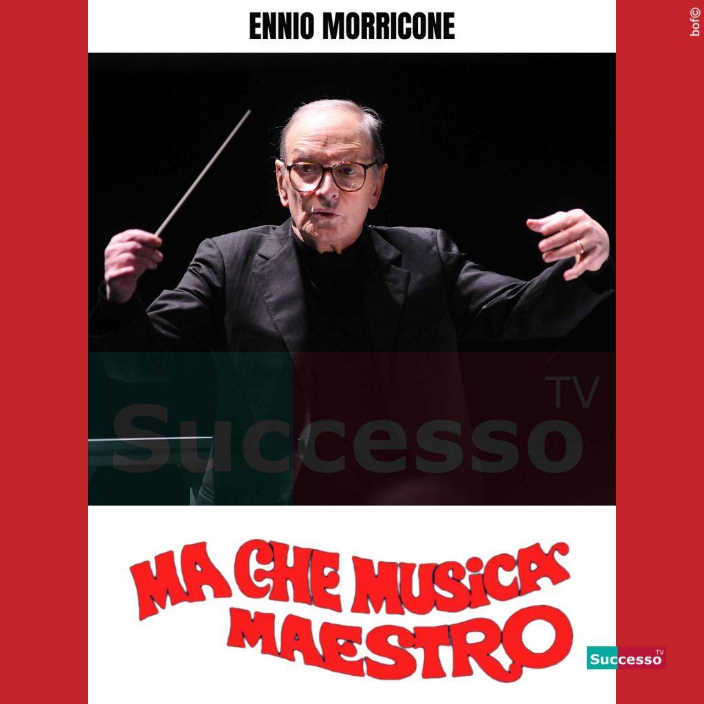 le cartoline di successo tv 2020 Ennio Morricone