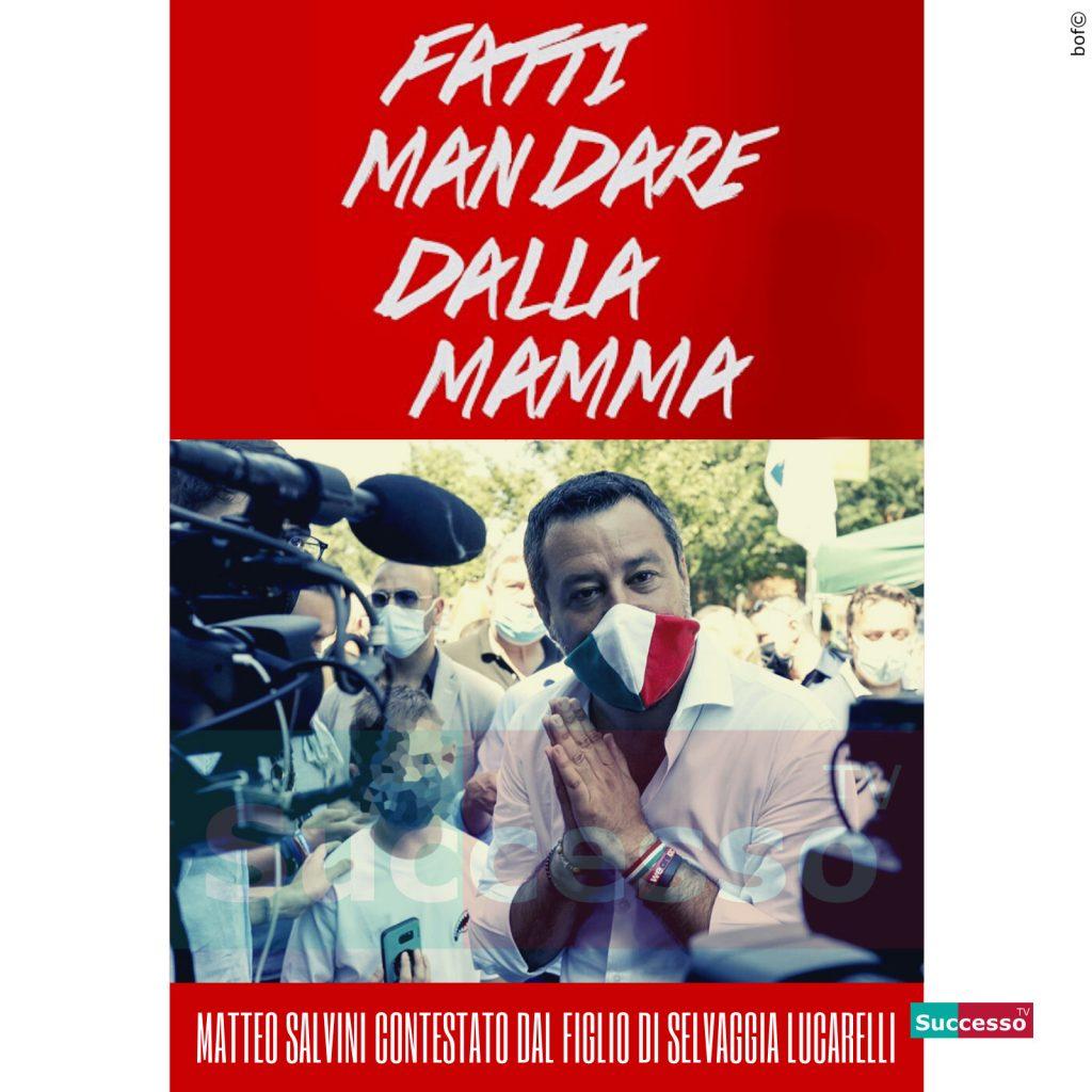 le cartoline di successo tv 2020 Matteo Salvini Selvaggia Lucarelli